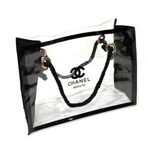 New CHANEL BEAUTE PVC Bag